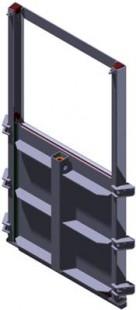Van cửa phai kích thước W:H: 1000×1300 mm