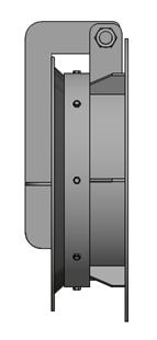 Van cửa lật DN3004