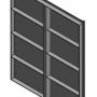 Van cửa phai kích thước W:H: 1000×1300 mm4