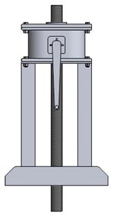 Máy nâng hạ (đóng mở) van cửa phai 10VĐ12