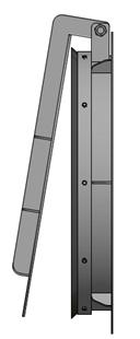 Van cửa lật kích thước DN800
