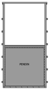 VAN CỬA PHAI KÍCH THƯỚC WxH: 700×700 mm3
