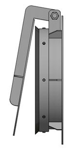 Van cửa lật kích thước DN4004