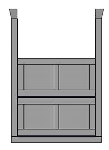 Stoplog kích thước L800xH8005