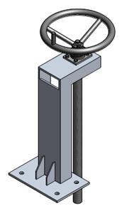 Tay quay nâng hạ van cửa phai PENDIN-S1
