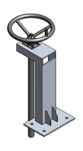 Tay quay nâng hạ van cửa phai PENDIN-S12