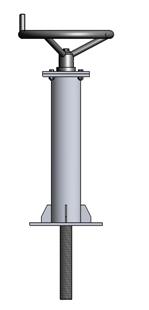 Tay quay nâng hạ van cửa phai PEDIN-S23