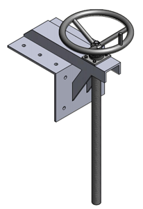Tay quay nâng hạ van cửa phai PEDIN-S3