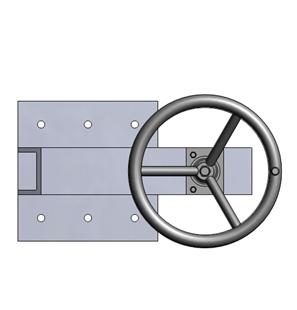 Tay quay nâng hạ van cửa phai PEDIN-S32