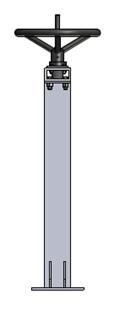 Tay quay nâng hạ van cửa phai PEDIN-S43
