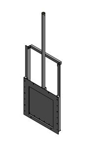 Van cửa phai PEN TA kích thước WxH: 500×500 mm3
