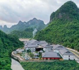 Cung cấp, lắp đặt Van cửa phai tại Khu nghỉ dưỡng suối khoáng Onsen Quang Hanh
