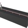 Cửa chống ngập dùng máy nâng hạ Model PEN_MNH2