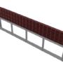 Cửa chống ngập dùng máy nâng hạ Model PEN_MNH3