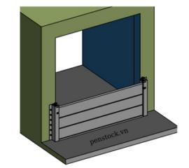 Cửa chống ngập Model PCN_N_W_10.10