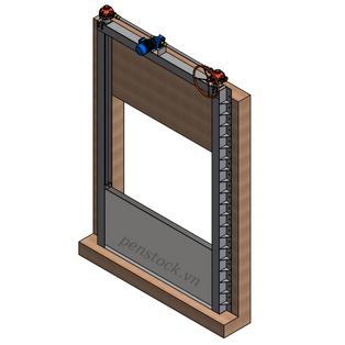 Cửa chống ngập Model PCN_L_J_20.8