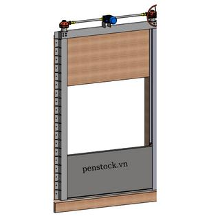 Cửa chống ngập Model PCN_L_J_30.8