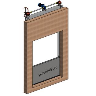 Cửa chống ngập Model PCN_L_J_40.8