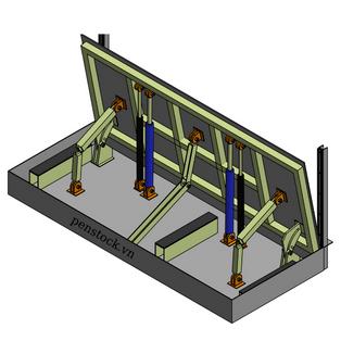 Cửa chống ngập Model PCN_L_Z_30.8